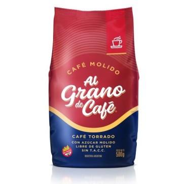 Café Molido Torrado Al Grano de Café x 500g.