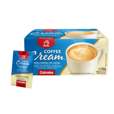 Cabrales Coffee Cream estuche x 36 sobres.