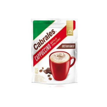 Cappuccino Cabrales Instantáneo Doy Pack x 125g.