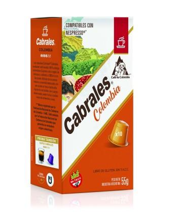 Cápsulas Cabrales COLOMBIA 10x5.5g