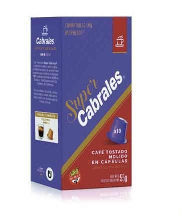 Cápsulas Cabrales SÚPER CABRALES 10x5.5g