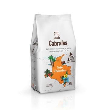 Café Molido Tostado Colombia x 250g.