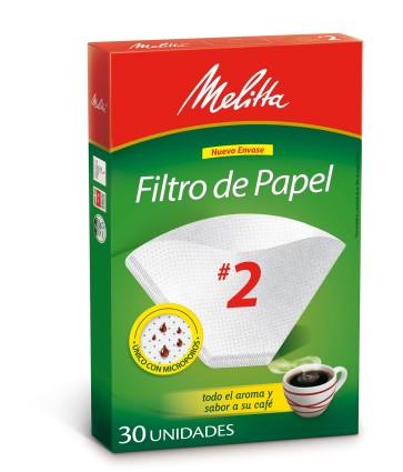 Filtros Melitta N°2 x 30u.