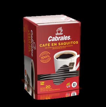Café Torrado en Saquitos estuche x 20s.