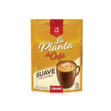 Café Instantáneo Suave La Planta de Café Doy Pack x 110g