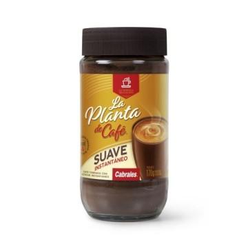 Café Instantáneo Suave La Planta de Café Frasco x 170g
