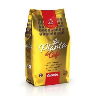 Café Molido Torrado La Planta de Café x 1000g.