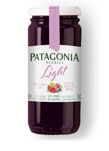 Dulce Patagonia Berries Light Frutos del Bosque x 265g