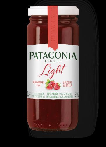Dulce Patagonia Berries Light Frutilla x 265g