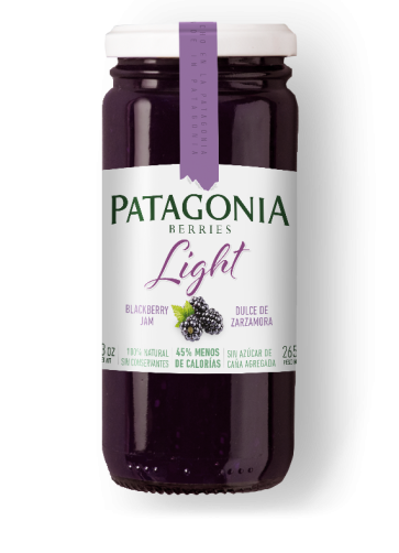 Dulce Patagonia Berries Light Zarzamora x 265g