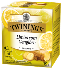 Twinings Limón y Jengibre 10x1.5g