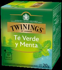 Twinings Té Verde y Menta 10x2g