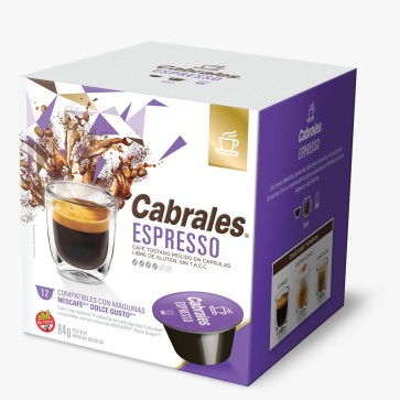 Cabrales Cápsulas Espresso 12x6g