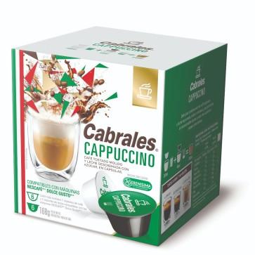 Cabrales Cápsulas Cappuccino 6x24g