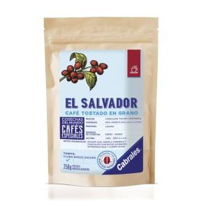 Café Tostado en Grano COSECHAS DEL MUNDO ® EL SALVADOR x 250g