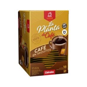 Café en Saquitos La Planta de Café 18x5g