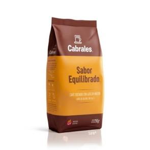 Café Molido Tostado con azúcar Sabor Equilibrado x 250g.
