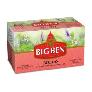 Té de Boldo Big Ben x 25 saquitos.