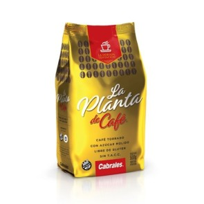 Café Molido Torrado La Planta de Café x 500g.