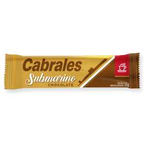 Cabrales Chocolate para submarino x 50u.