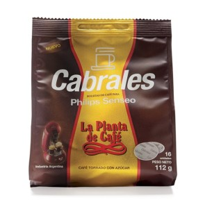 "Monodosis Senseo ""La Planta de Café"" pack x 16u."