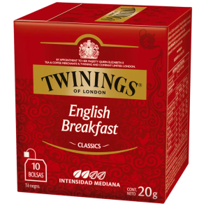 Twinings English Breakfast 10x2g